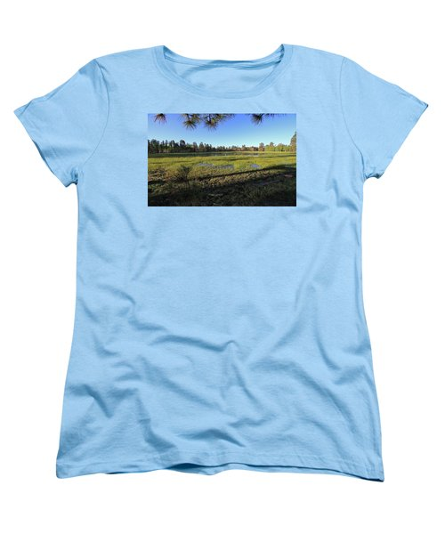 Women's T-Shirt (Standard Cut) featuring the photograph Rim Glade by Gary Kaylor
