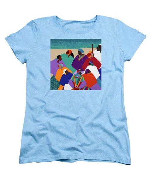 Ring Shout Gullah Islands Women's T-Shirt (Standard Fit)