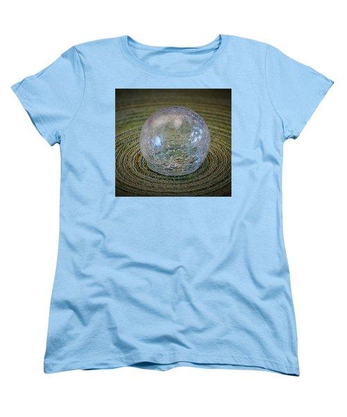 Ripple Effect Women's T-Shirt (Standard Cut) by John Glass