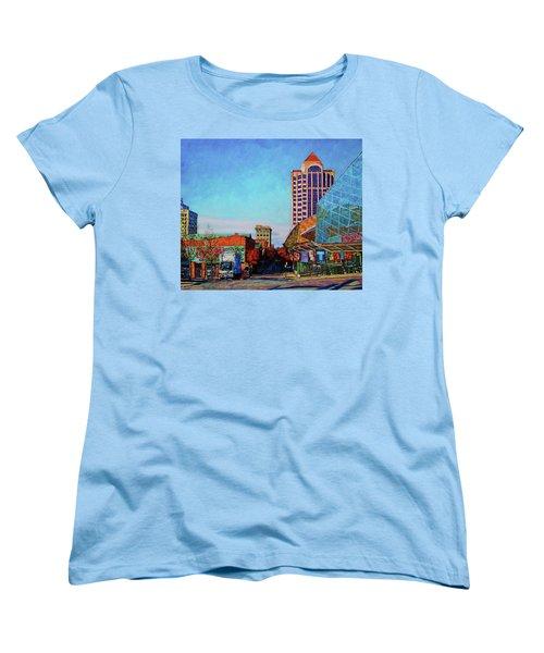 Rise And Shine Women's T-Shirt (Standard Cut) by Bonnie Mason