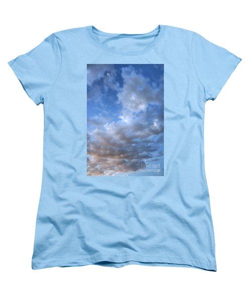 Women's T-Shirt (Standard Cut) featuring the photograph Rising Clouds by Michael Rock
