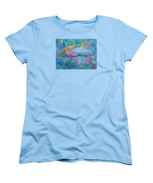 River Bow Women's T-Shirt (Standard Cut) by Nancy Jolley