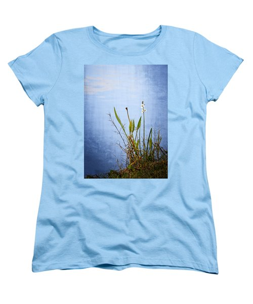 Women's T-Shirt (Standard Cut) featuring the photograph Riverbank Beauty by Carolyn Marshall
