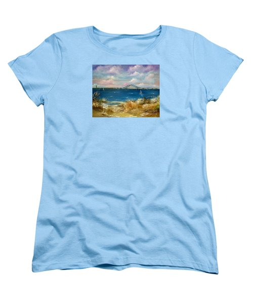 Robert Moses Bridge Women's T-Shirt (Standard Cut) by Patrice Torrillo