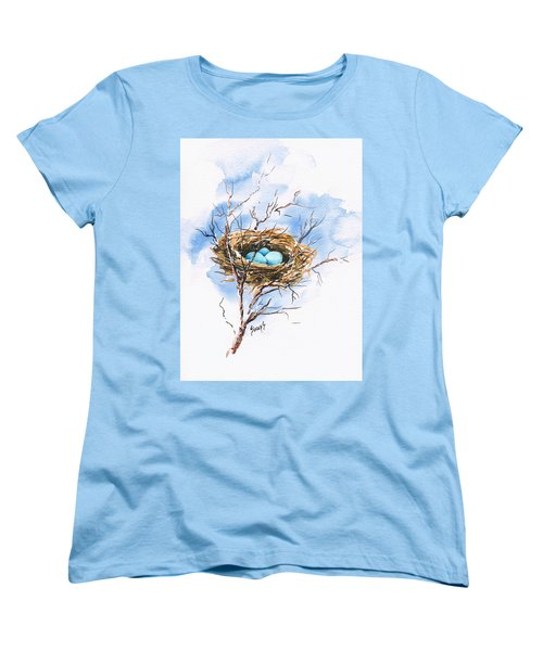 Robin's Nest Women's T-Shirt (Standard Cut)