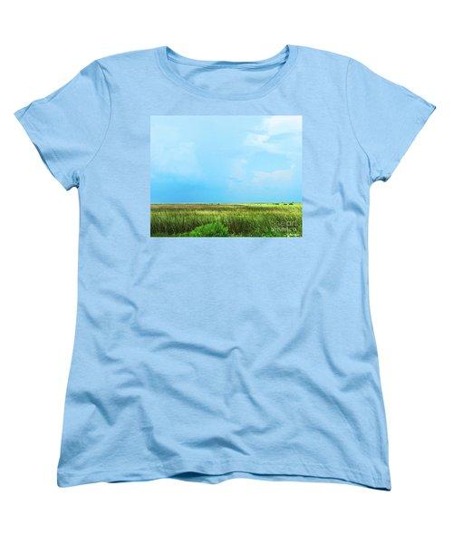 Rockefeller Wma Women's T-Shirt (Standard Cut) by Lizi Beard-Ward