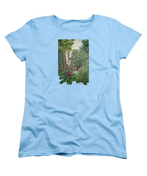 Rocke's Garden Clothing Women's T-Shirt (Standard Cut) by Jim Rehlin