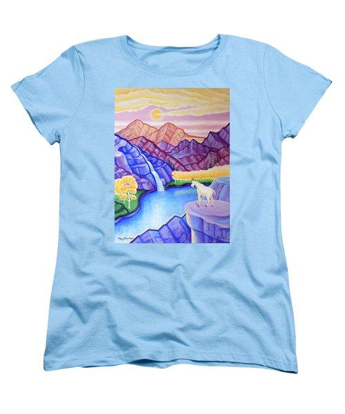Rocky Mountain High Women's T-Shirt (Standard Cut) by Tracy Dennison