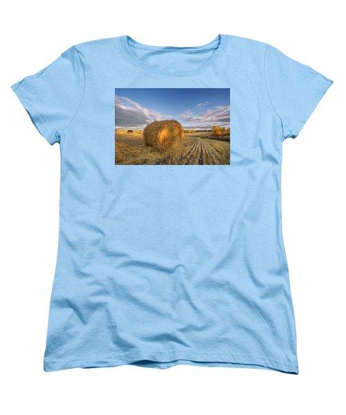 Rolling Hills Women's T-Shirt (Standard Cut) by Dan Jurak