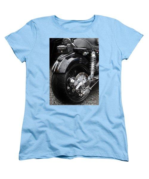 Rolling Thunder Women's T-Shirt (Standard Cut) by Diane E Berry