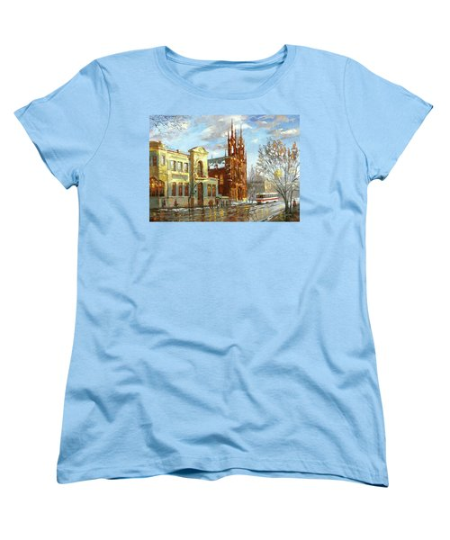 Roman Catholic Church Women's T-Shirt (Standard Cut) by Dmitry Spiros
