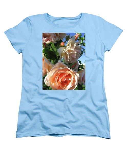 Rose Di Vine Women's T-Shirt (Standard Cut) by Brooks Garten Hauschild