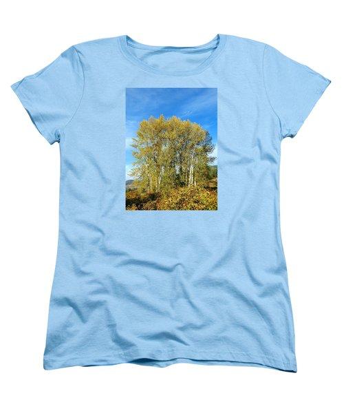 Rosehips And Cottonwoods Women's T-Shirt (Standard Cut)
