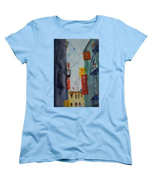 Ross Alley6 Women's T-Shirt (Standard Cut) by Tom Simmons