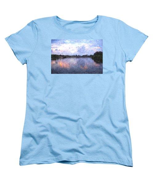 Rotonda River Roriwc Women's T-Shirt (Standard Cut) by Jim Brage