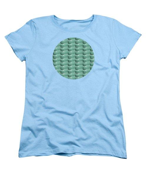 Round Bottom Bottles Collage Women's T-Shirt (Standard Cut) by Phil Perkins