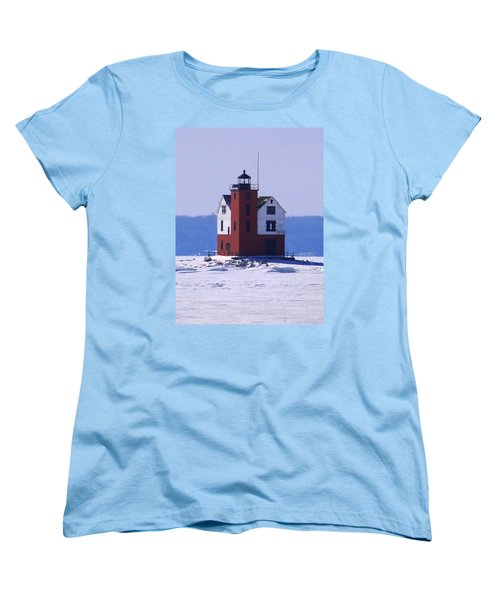 Round Island 2 Women's T-Shirt (Standard Cut) by Keith Stokes