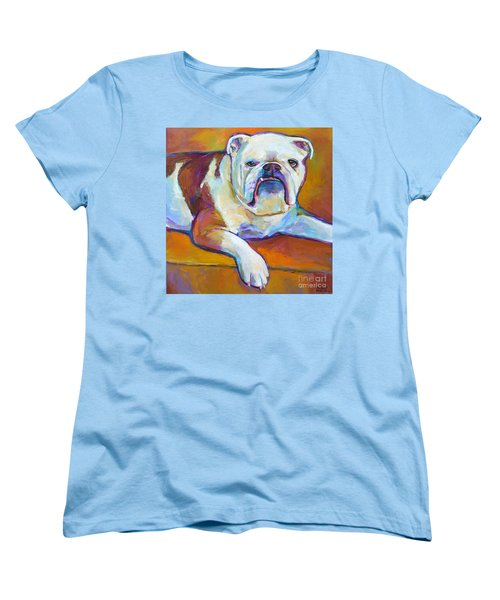 Women's T-Shirt (Standard Cut) featuring the painting Roxi by Robert Phelps