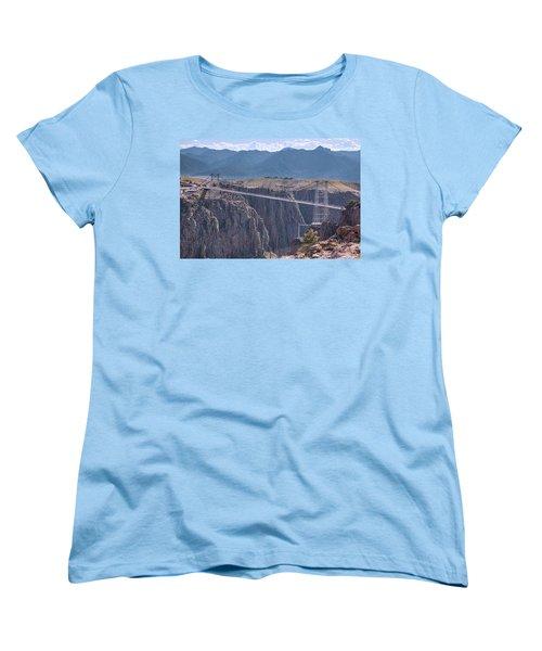 Royal Gorge Bridge Colorado Women's T-Shirt (Standard Cut) by James BO Insogna