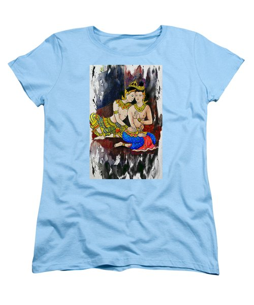 Royal Lovers Of Siam  Women's T-Shirt (Standard Cut) by Ian Gledhill