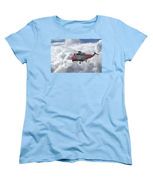 Women's T-Shirt (Standard Cut) featuring the photograph Royal Navy - Sea King by Pat Speirs
