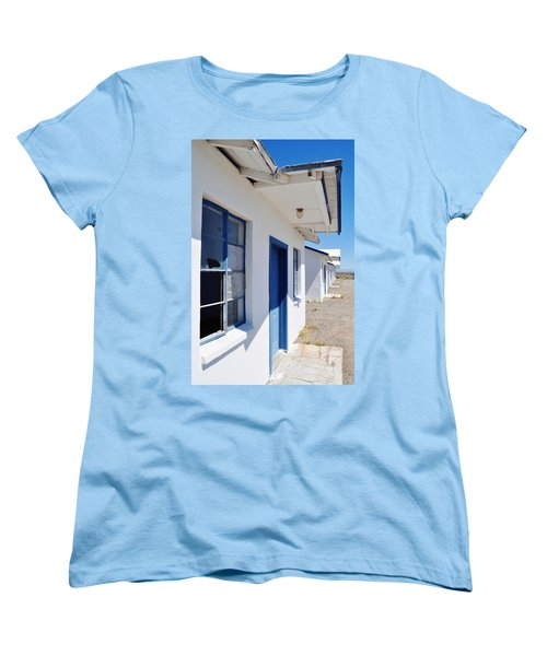 Roy's Motel And Cafe Auto Court Women's T-Shirt (Standard Cut) by Kyle Hanson