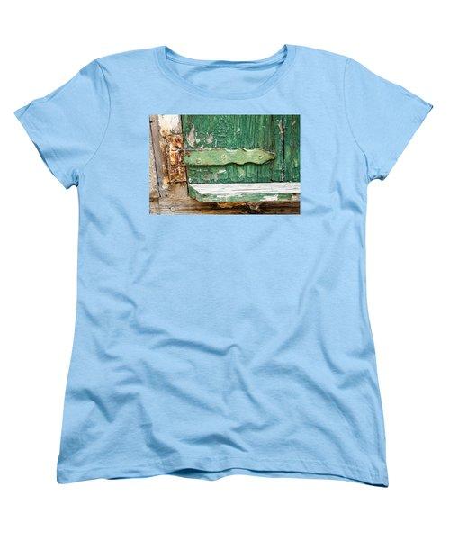 Rust And Paint Women's T-Shirt (Standard Cut) by Allen Carroll