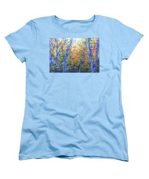 Rustlers Gulch Afternoon Women's T-Shirt (Standard Cut) by Becky Chappell
