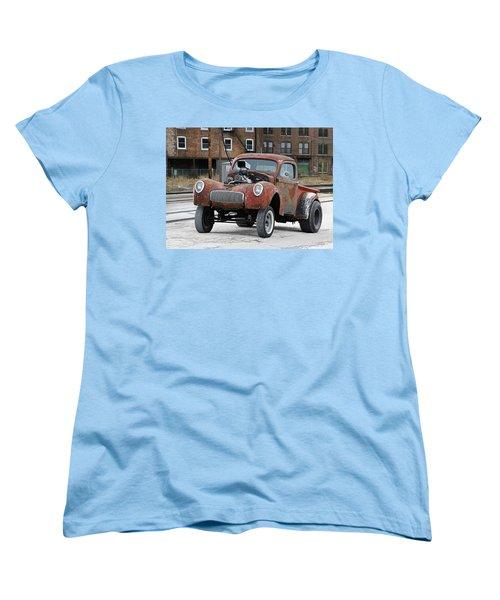Rusty Gasser Women's T-Shirt (Standard Cut) by Christopher McKenzie