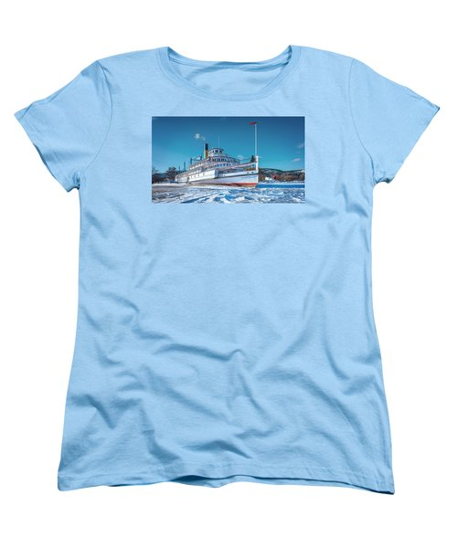 Women's T-Shirt (Standard Cut) featuring the photograph S. S. Sicamous by John Poon