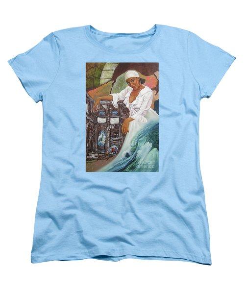 Sabanas Blancas Women's T-Shirt (Standard Cut) by Jorge L Martinez Camilleri