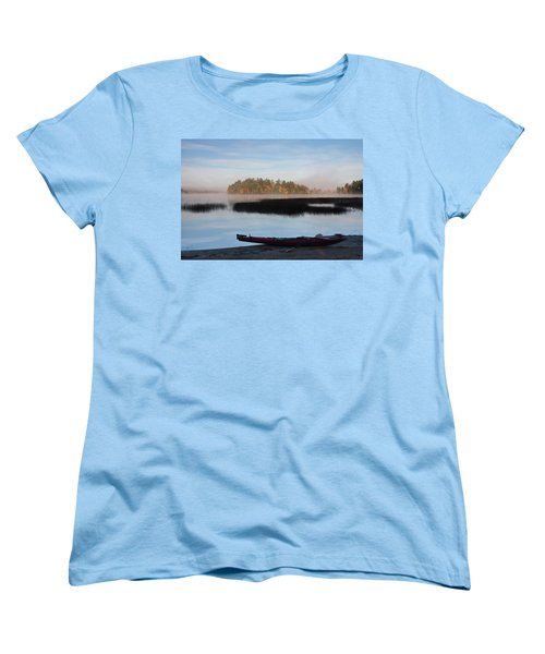 Sabao Morning Women's T-Shirt (Standard Cut) by Brent L Ander