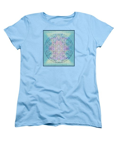 Women's T-Shirt (Standard Cut) featuring the digital art Sacred Symbols Out Of The Void 4b by Christopher Pringer