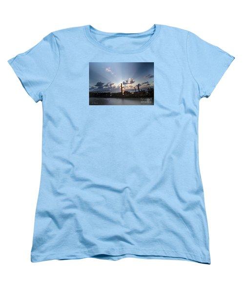 Safe Shore 02 Women's T-Shirt (Standard Cut) by Arik Baltinester