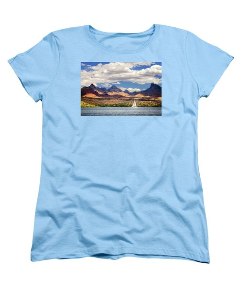Sailing In Havasu Women's T-Shirt (Standard Cut)