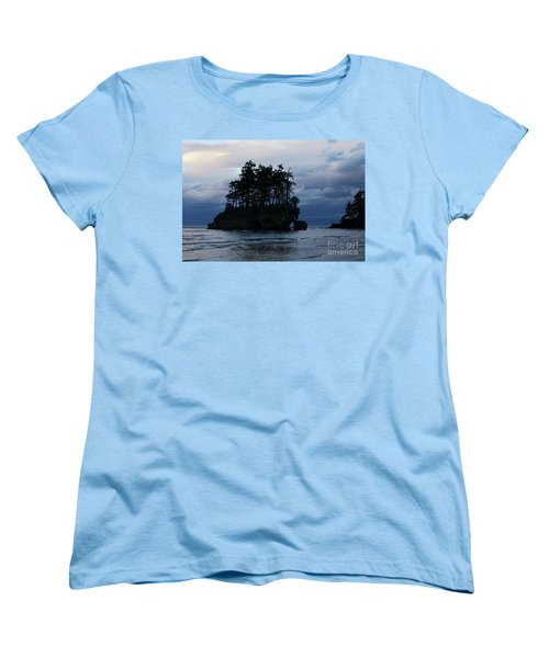 Salt Creek At Sunset Women's T-Shirt (Standard Cut) by Jane Eleanor Nicholas