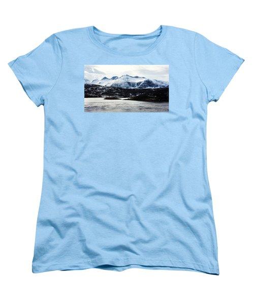 Saltstraumen Women's T-Shirt (Standard Cut) by Tamara Sushko