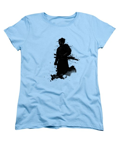 Samurai Women's T-Shirt (Standard Cut) by Nicklas Gustafsson