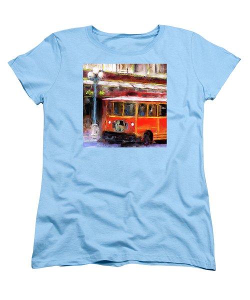 San Antonio 5 Oclock Trolley Women's T-Shirt (Standard Cut)