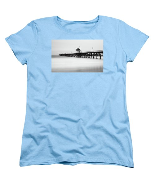 San Clemente Pier Women's T-Shirt (Standard Cut) by Tassanee Angiolillo