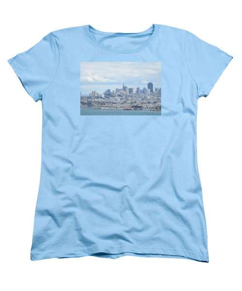 Women's T-Shirt (Standard Cut) featuring the photograph San Francisco by Alex King