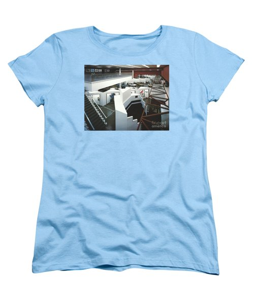 Women's T-Shirt (Standard Cut) featuring the photograph San Francisco Autocenter by Andrew Drozdowicz
