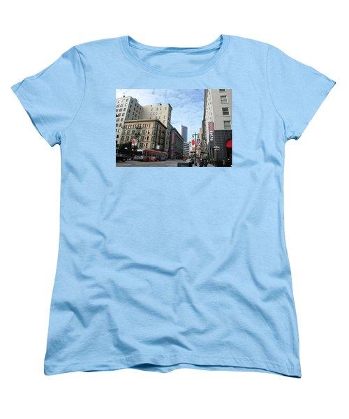 San Francisco - Jessie Street View Women's T-Shirt (Standard Cut) by Matt Harang
