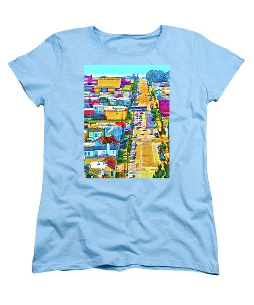 San Francisco Quintara View Women's T-Shirt (Standard Cut)