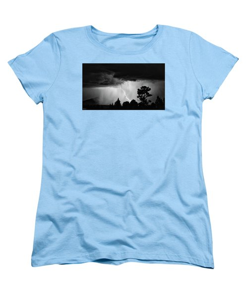 Women's T-Shirt (Standard Cut) featuring the photograph San Juan Strike by Kevin Munro