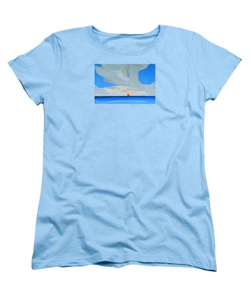 San Juan Sunrise Women's T-Shirt (Standard Cut) by Dick Sauer