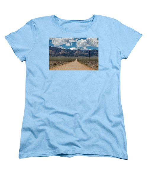 San Luis Valley Back Road Cruising Women's T-Shirt (Standard Cut) by James BO Insogna