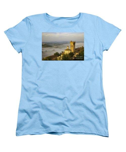 San Miniato Women's T-Shirt (Standard Cut) by Brian Jannsen