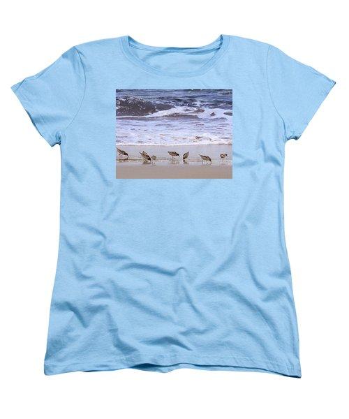 Sand Dancers Women's T-Shirt (Standard Cut) by Steven Sparks