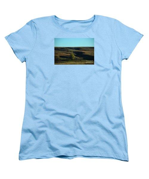 Women's T-Shirt (Standard Cut) featuring the photograph Sandhills Hills by Mark McReynolds